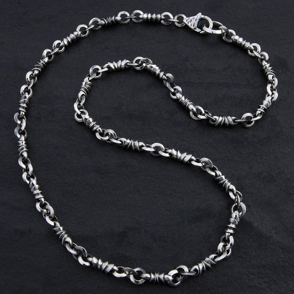 10. Geo-010 - Sterling Silver Necklace