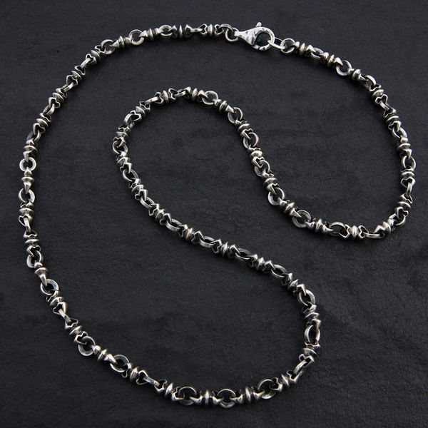 11. Geo-011 - Sterling Silver Necklace