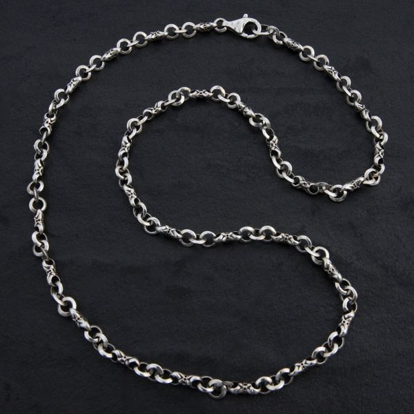 12. Geo-012 - Sterling Silver Necklace