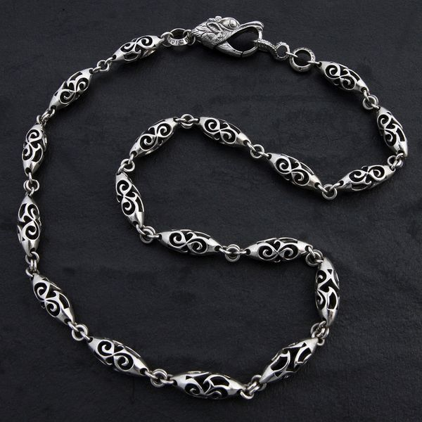 13. Geo-013 - Sterling Silver Necklace