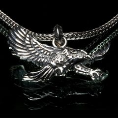 28. Eagle - Sterling Silver Pendant