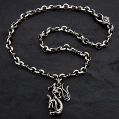 30. Dragon - Sterling Silver Necklace