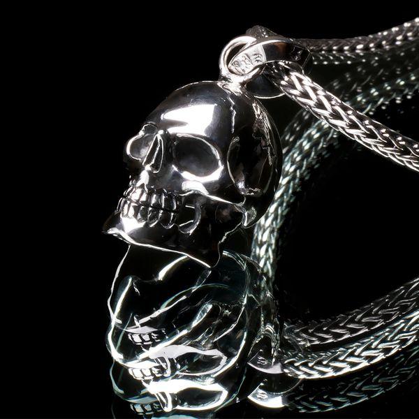 51. Skull - Sterling Silver Pendant