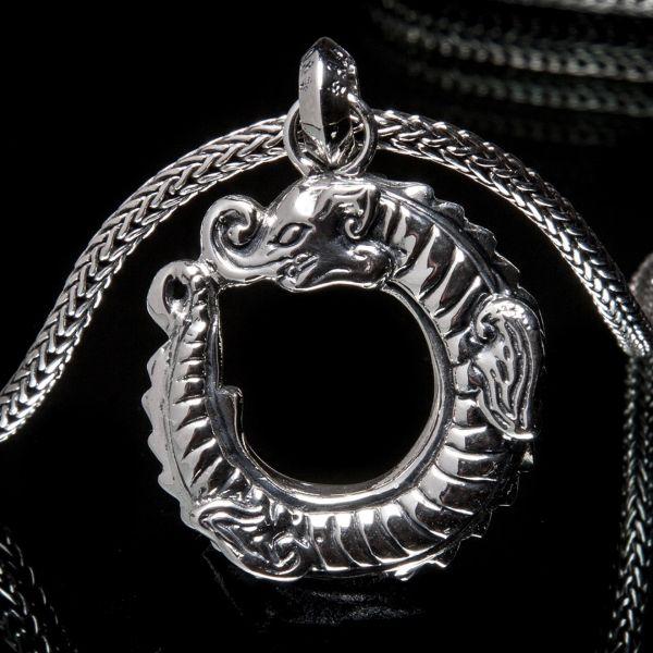 69. Chinese Dragon - Sterling Silver Pendant