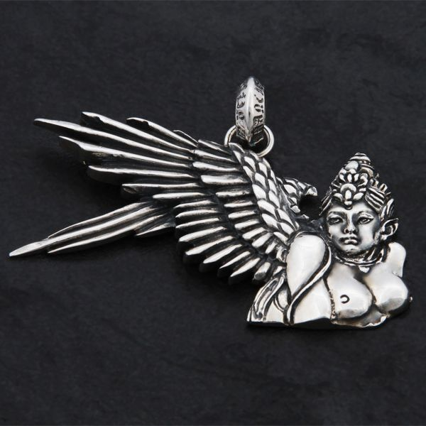 73. Angel 2 - Sterling Silver Pendant