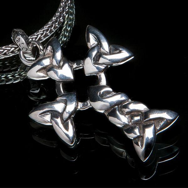 78. Celtic Cross - Sterling Silver Pendant