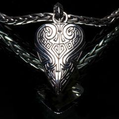 82. Ancient Design - Sterling Silver Pendant