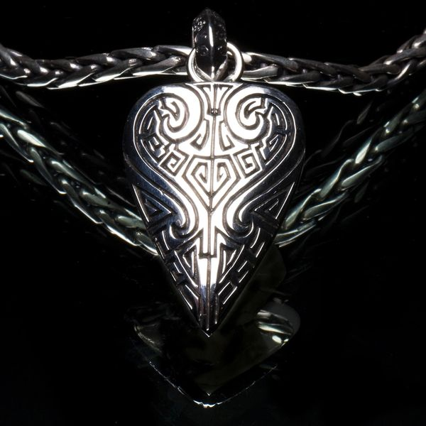 82. Ancient Design - Sterling Silver Pendant