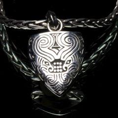 83. Ancient Design - Sterling Silver Pendant