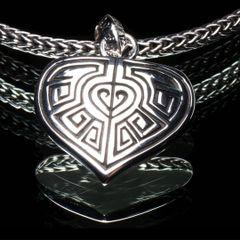 85. Ancient Design - Sterling Silver Pendant