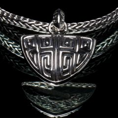 88. Ancient Design - Sterling Silver Pendant