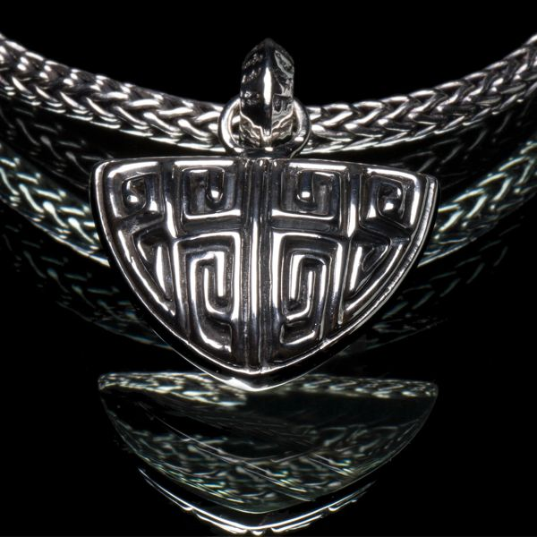 88. Ancient Design - Sterling Silver Pendant
