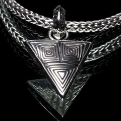89. Ancient Design - Sterling Silver Pendant
