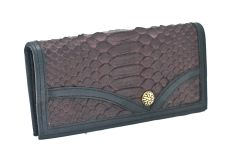 Python - Leather Wallet - 1E