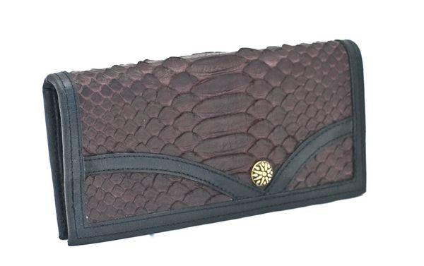 Python - Leather Wallet - 1E