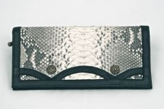 Python - Leather Wallet - 2D