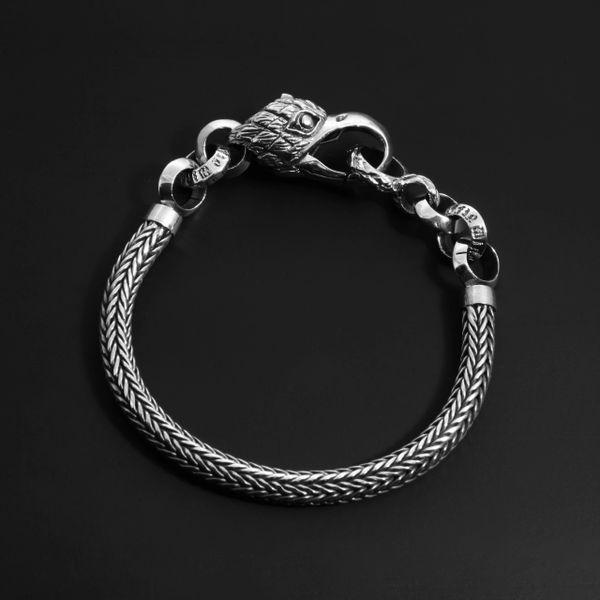 92. Eagle - Sterling Silver Bracelet
