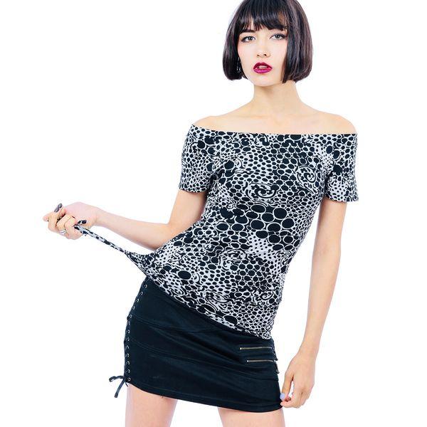 Elena Top Short Sleeves - V9