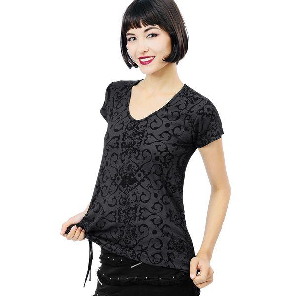Destiny Top Short Sleeves - Black Dragon