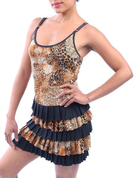 Dress 08 - Cheetah Ruffle Dress