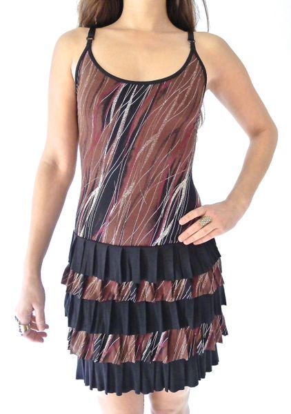 Dress 08 - Forest Rain Ruffle Dress