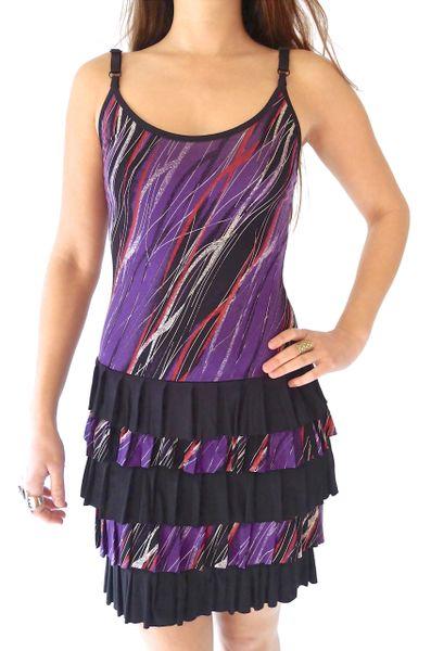 Dress 08 - Purple Rain Ruffle Dress
