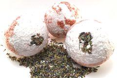 Lavender & Sea Salt Bath Bomb Fizzie