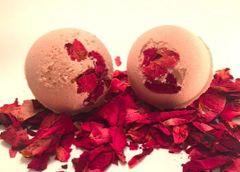 Rose Geranium Bath Bomb Fizzie