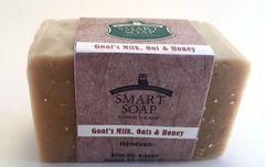 Goat's Milk, Oats & Honey Soap Bar - Unscented