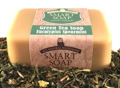 Green Tea Soap - Spearmint Eucalyptus