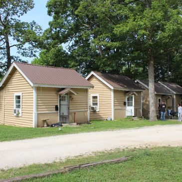 Men's facilities include 4 guest houses in St. Louis, MO, Fort Good Shepherd Ranch in Cuba, MO, and