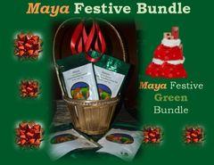 Maya Festive Green Bundle-Maya of Australia Organic Darjeeling Green Tea (4 x 50 g= 200g)