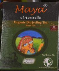 Maya of Australia-Organic Darjeeling Tea Bags (10 Tea bag envelopes)