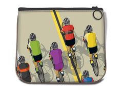 Cycling Coin Bag