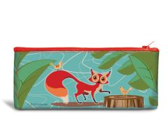 Foxy Recyclable Pencil Bag