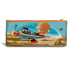 Travel to Mars Recyclable Pencil Bag