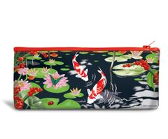 Pond Flower Recyclable Pencil Bag