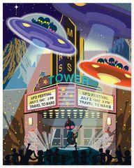 UFO - Art Print