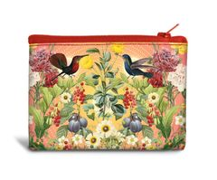 Bird Garden Recyclable Coin Bag