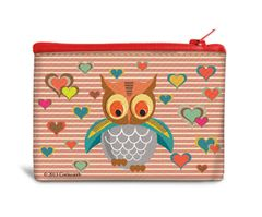Owl Recyclable Coin Bag