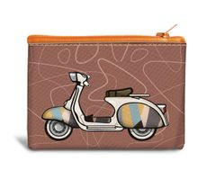 Scooter - Recyclable Coin Bag