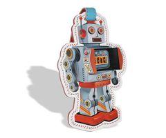 Robots Luggage Tag