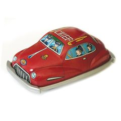 Vintage Tin Toys - Chief / Fire Dept.