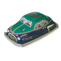 Vintage Tin Toys - Military Police