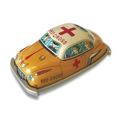 Vintage Tin Toys - Red Cross