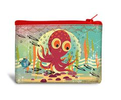 Octopus - Recyclable Coin Bag