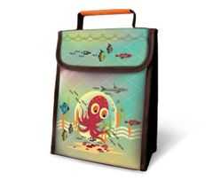 Octopus - Insulated Lunch Sack