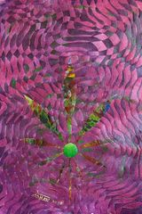 Cannabis Leaf Canvas Print by Mohan 3