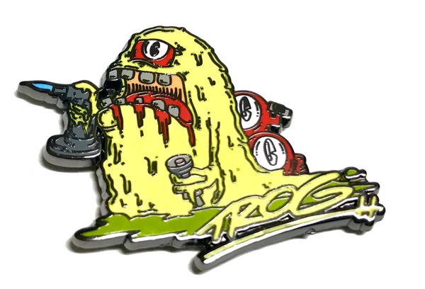 TROG - Blob Monster Yellow