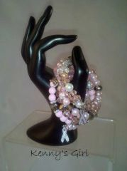 Pink Sensation Awarness bracelet
